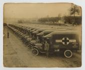 Photograph of Red Cross Vans, front [image 1 of 2]