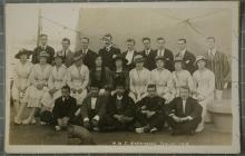 Dathliadau Diwrnod y Cadoediad ar HMS Bellerophon