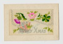 Postcard written in trench mud, front [image 1...