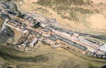 Aerial photograph of Maerdy Colliery, 1990