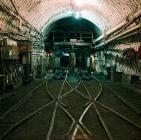 Pit bottom, Maerdy Colliery, 1975
