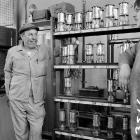 Oil lamp store, Maerdy Colliery, 1975