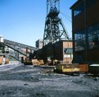 Headframe, Maerdy Colliery, 1975