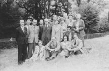 Staff of Llangollen Grammar School