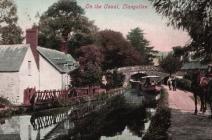 Llangollen. The Canal