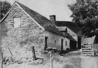 Exterior view of Cilewent Farmhouse