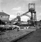 Deep Navigation Colliery, the downcast...