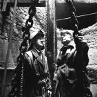 Deep Duffryn Colliery, two pitmen inspecting...