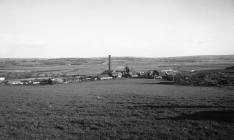 Morlais Colliery, general view  looking east...