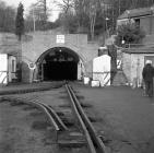 Aberpergwm, 1972, entrance of the new drift mine.
