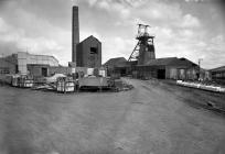 Morlais Colliery, a general view, note the...