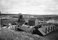 General surface view, Big Pit 1975.