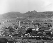 Coal mining and its landscape, Waunlwyd, 1950s