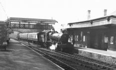 JOHNSTON RAILWAY STATION;MILFORD ROAD STATION