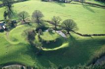Sycharth Castle, Llansilin