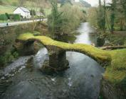 Pont Minllyn bridge