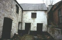 Bakehouse behind Royle's Chemist shop, Denbigh