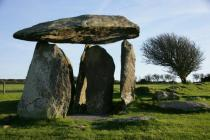 PENTRE IFAN CHAMBERED TOMB, NEAR NEVERN