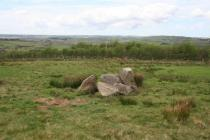 LLYS ATHRO, POSSIBLE CLEARANCE CAIRN