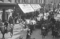 Llangollen. May Day carnival