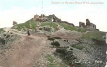 Llangollen. Dinas Bran Castle