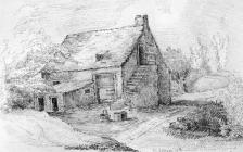 Sketch of the Cottage of Rowland and Elvira...