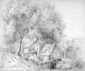 Untitled sketch, by one of the Bacon Sisters,...