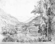 Sketch of Cynon Valley, by one of the Bacon...