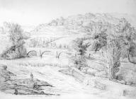 Sketch from Forest Bridge, by one of the Bacon...