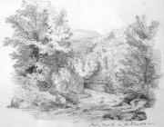 Sketch of Pont y Gwaith, Rhondda Valley, by one...