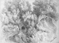 Sketch of Waun Laes, by one of the Bacon...