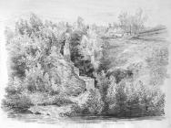 Sketch with illegible title, by Emma Bacon,...