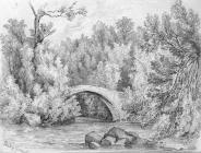 Sketch of Pont y Gwaith, by one of the Bacon...