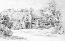 Sketch of Duffryn House, by one of the Bacon...