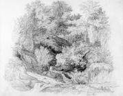 Sketch of Cwm Boi by one of the Bacon Sisters,...