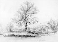 Sketch on the Cynon by one of the Bacon Sisters...