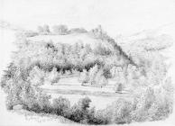 Sketch at Duffryn by one of the Bacon Sisters,...