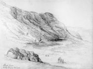 Sketch of Llyn Fawr, Rhigos, by one of the...