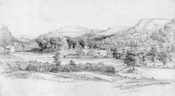 Sketch of Aberdare from Gadlys, by one of the...