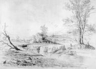 Sketch of the Aman at Cynon by one of the Bacon...