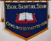 Banner titled 'Ysgol Sabathol Siloh:...