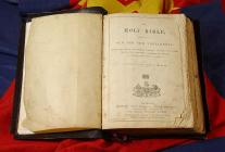 Bible which belonged to the evangelist '...