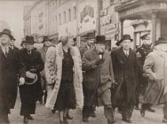 Winston Churchill's visit to Swansea after...