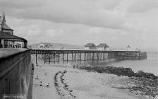 Mumbles pier and beach