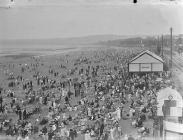 Swansea sands in summer