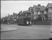 Swansea tram, 1930s