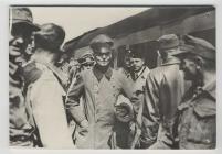 Field Marshal von Rundstedt arriving at Island...