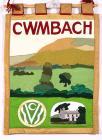 Banner titled 'Cwmbach'