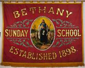Banner titled 'Bethany Sunday School,...