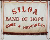 Banner titled 'Siloa, Band of Hope, Home...